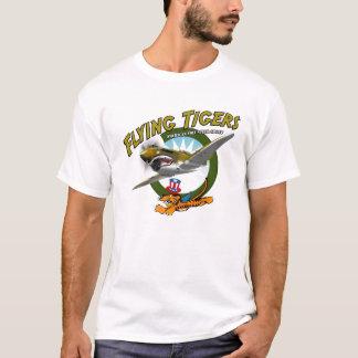 Tigrar för flyg P-40 Tee Shirts