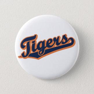 Tigrar i beställnings- färger standard knapp rund 5.7 cm