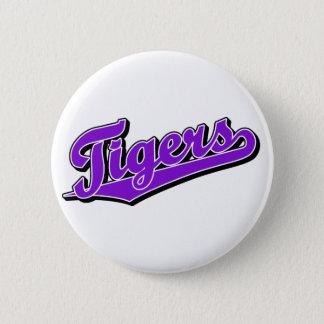 Tigrar i lilor standard knapp rund 5.7 cm