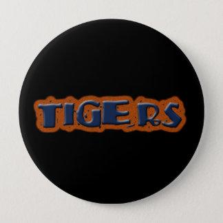 tigrar klämmer fast stor knapp rund 10.2 cm