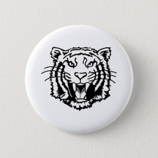 Tigrar skisserar standard knapp rund 5.7 cm