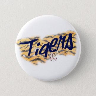 tigrar VRÅLAR Standard Knapp Rund 5.7 Cm