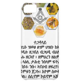 Tigray frigör masonen iPhone 5C fodral