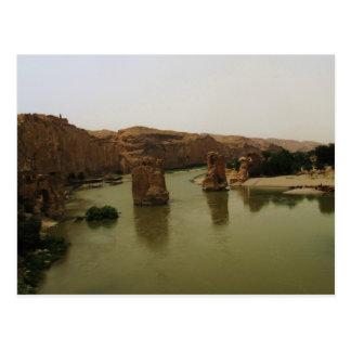 Tigris River - Hasankeyf, Turkiet Vykort