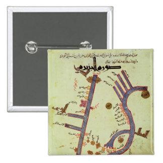 Tigrisen och Euphratesen Standard Kanpp Fyrkantig 5.1 Cm