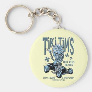 Tiki Tims Nyckel Ring