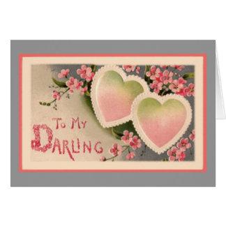 Till min älskling hälsningskort