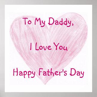 Till min pappa poster