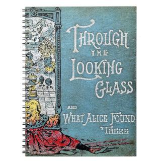 Till och med den tittar Glass anteckningsboken Anteckningsbok