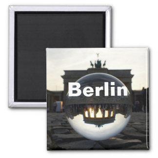 Till och med kristallkulan Brandenburg grind Magnet