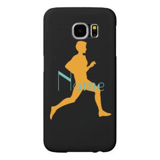 Till orange.en för Paris springerjoggare Galaxy S5 Fodral