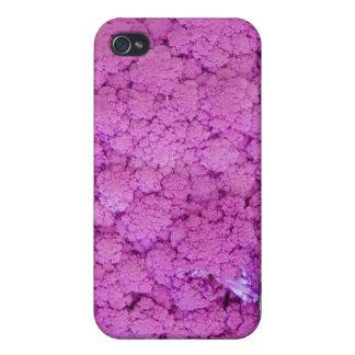 Till salu purpurfärgad blomkål iPhone 4 cover