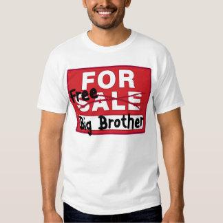 Till salu rolig T-tröja för storebror Tee Shirts