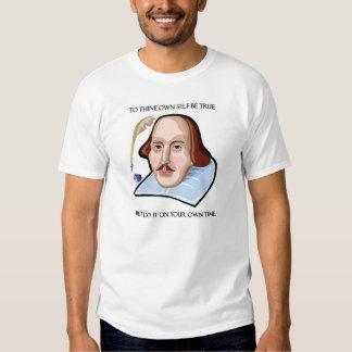 till-thine-egen-själv-vara-riktig-men t-shirt