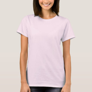 Tillbaka den Haynes Comfortsoft kvinna öbo spårar T-shirt