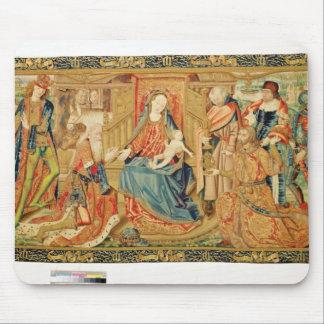 Tillbedjan av magina, 15th-16th århundrade musmatta