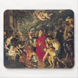 Tillbedjan av magina, 1610 musmatta