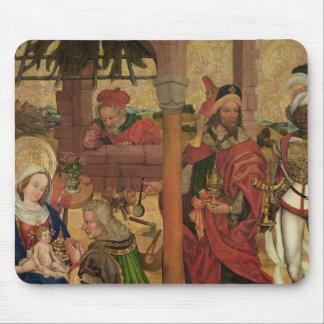 Tillbedjan av magina, c.1475 musmatta