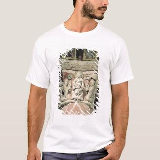 Tillbedjan av magina, kolonnhuvudstad (stenen) t shirt