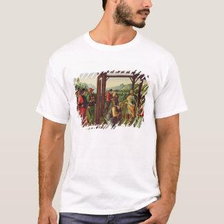 Tillbedjan av magina (olja på panel) (se också tee shirt
