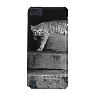 Tillfällig katt på trappor iPod touch 5G fodral