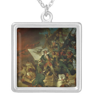 Tillfångatagande av Azov, 18th maj 1696 Silverpläterat Halsband