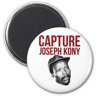 Tillfångatagandet Kony - T-tröja, fodral, hattar o Magnet Rund 5.7 Cm
