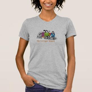 Tillflyktsortkvinna snitt tee shirts