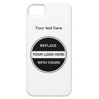 Tillfoga din affärslogotyp iPhone 5 cover