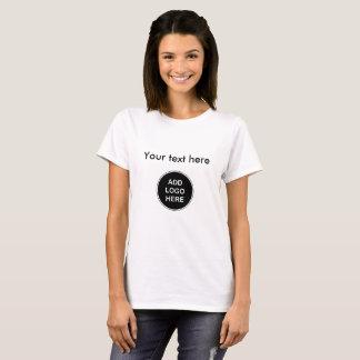 Tillfoga din affärslogotyp tee shirt