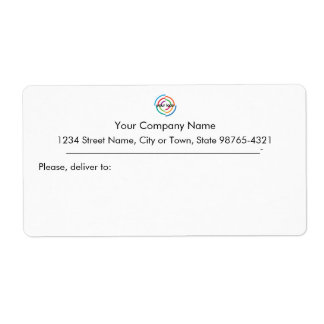 Tillfoga din beställnings- affärsadress för den fraktsedel