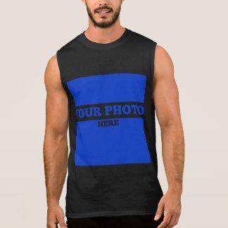 Tillfoga din bild t-shirts utan ärmar