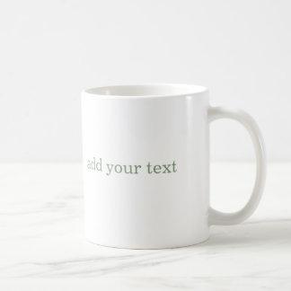 tillfoga din customizeable yogamugg för text vit mugg