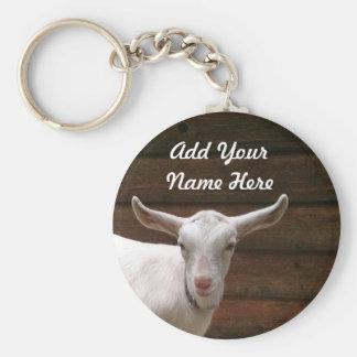 Tillfoga din get Keychain för namn här Rund Nyckelring