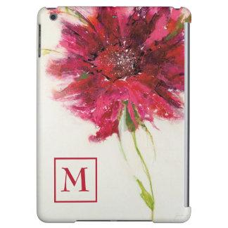 Tillfoga din rosa daisy för Monogram | på vit