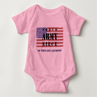Tillfoga din uncles den Namnge Stolt Armé T-shirts