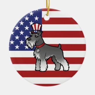 Tillfoga ditt egna husdjur och sjunka & fotoet julgransprydnad keramik