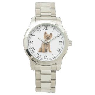 Tillfoga ditt husdjur porträtt för hunden för foto armbandsur