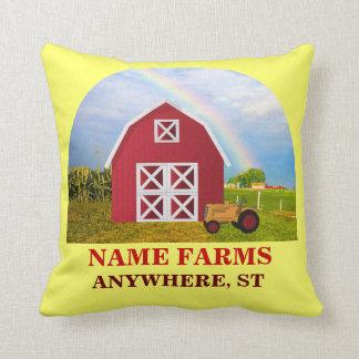 Tillfoga ditt namn till den röda ladugården med kudde