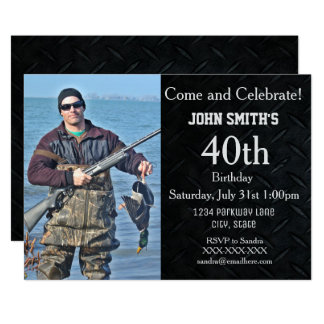 Tillfoga jakt- eller hobbyfotomanar en inbjudan