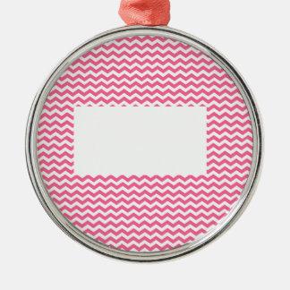 tillfoga text eller avbilda till denna rosa sparre julgransprydnad metall