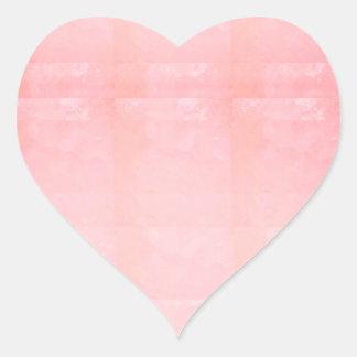 Tillfogar den Crystal rosa MALLEN för Hjärtformat Klistermärke