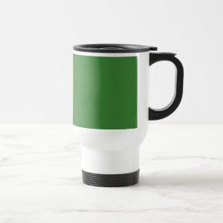 Tillfogar den gröna akrylMALLEN tom DIY för JD Rostfritt Stål Resemugg
