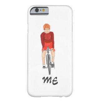 Tillfogar den tävlings- cyklisten för vägen, man, barely there iPhone 6 skal