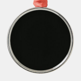 Tillfogar tomma svart grå färg DIY för slätten Julgransprydnad Metall