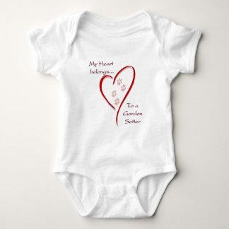 Tillhör för hjärta för Gordon Setter T Shirt