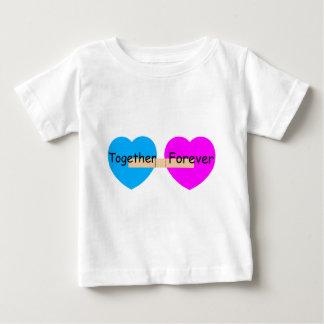 Tillsammans för evigtBandaide hjärtor Tshirts