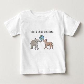 Tillsammans kan vi lösa klimatförändring tee shirts