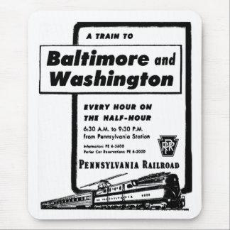 Tim- tåg 1948 för Pennsylvania järnväg Musmatta