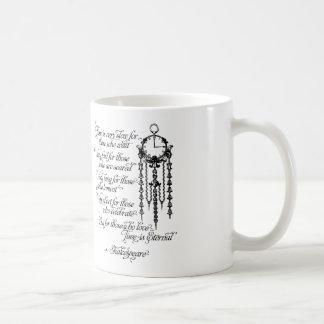 Time är den eviga muggen, det Shakespeare Kaffemugg